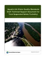 Aquatic Life Water Quality Standards Draft Technical Support Document for Total Suspended Solids (Turbidity)