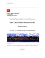 Feasibility Report and Environmental Assessment: Marsh Lake Ecosystem Resotaration Project, Minnesota River