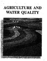 Agriculture and Water Quality: Best Management Practices for Minnesota