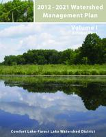 2012 - 2021 Watershed Management Plan Volume I