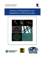 Patterns in Phytoplankton and Zooplankton in Minnesota Lakes