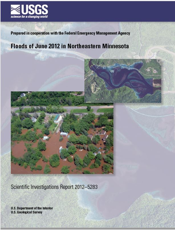 Floods of June 2012 in Northeastern Minnesota