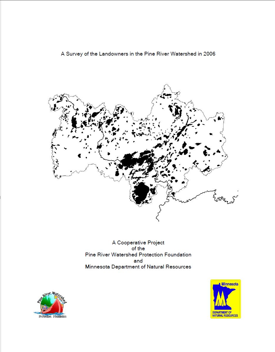 A Survey of Landowners in the Pine River Watershed in 2006