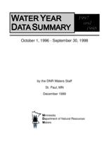 Water Year Summary 1997 and 1998