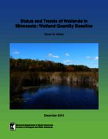 Status and Trends of Wetlands in Minnesota: Wetland Quantity Baseline