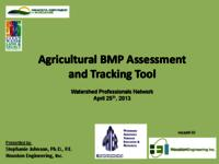 Agricultural BMP Assessment and Tracking Tool [Presentation]