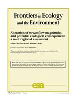 Alteration of streamflow magnitudes and potential ecological consequences: a multiregional assessment