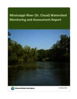 Mississippi River (St. Cloud) Watershed Monitoring and Assessment Report