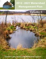 2012 - 2021 Watershed Management Plan Vol II [Comfort Lake-Forest Lake Watershed District]