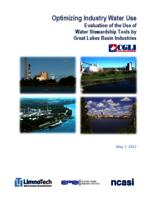 Optimizing Industry Water Use: Evaluation of the Use of Water Stewardship Tools by Great Lakes Basin Industries